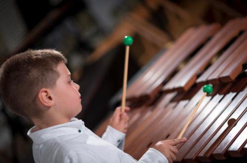 木琴演奏方式