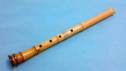 乐器尺八制作工艺