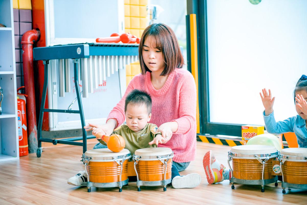 儿童学习打击乐的四大好处