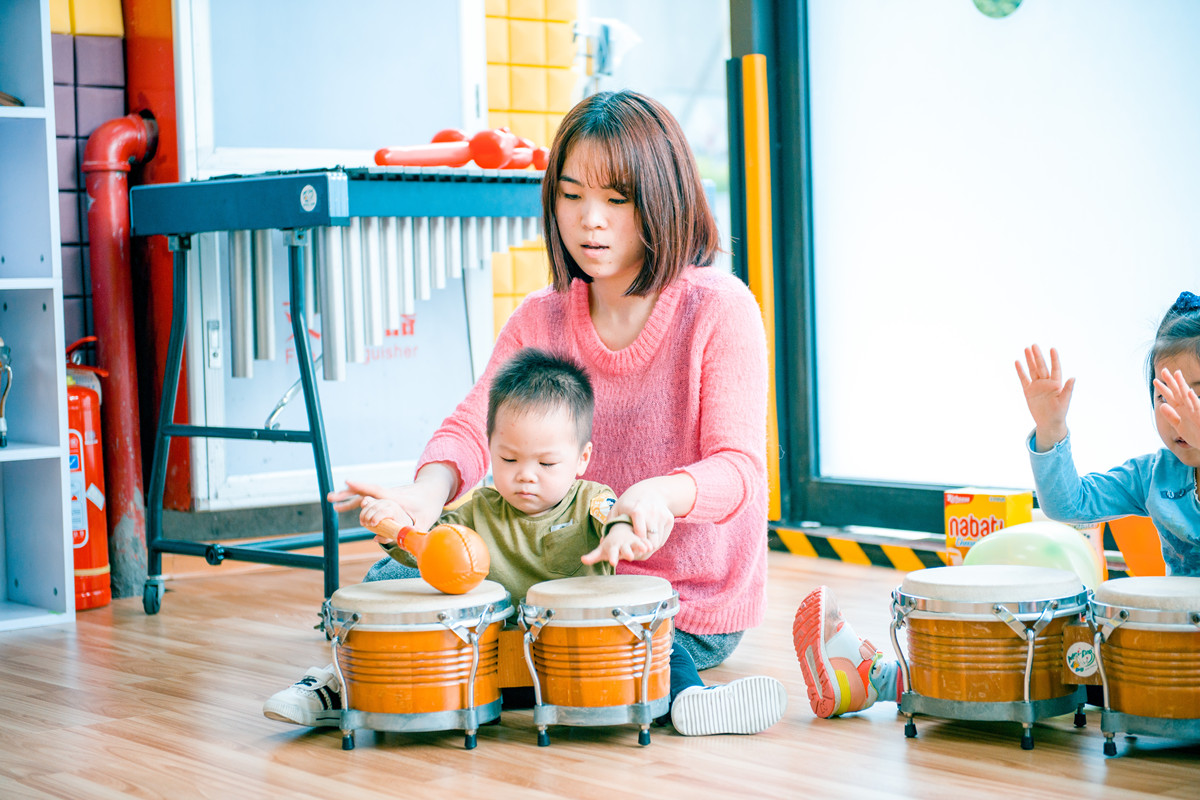 3岁幼儿怎么培训音乐