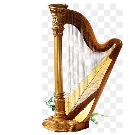 竖琴的结构组成