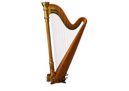 竖琴的发展历史