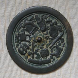 满族乐器铜镜介绍